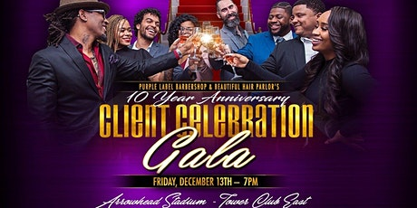 Purple Label & Beautiful Hair Salon - Client Celebration Gala tickets