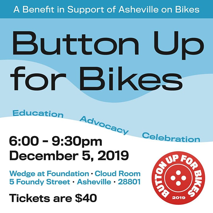 Button Up for Asheville on Bikes image
