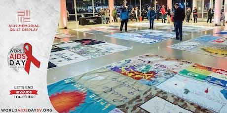 AIDS Memorial Quilt Display tickets