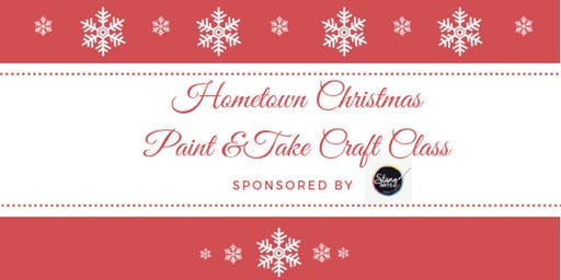 Paint & Take Craft Class with StangARTS