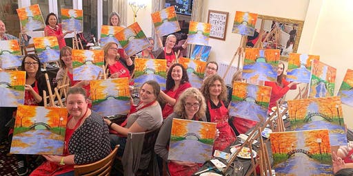 A Walk in the Park Brush Party – Witney