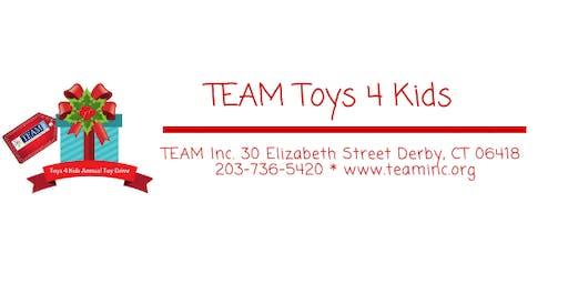 TEAM's Toys 4 Kids Drive