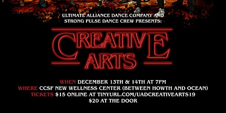 UA Dance Company and Strong Pulse  presents: Creative Arts Dance Show tickets