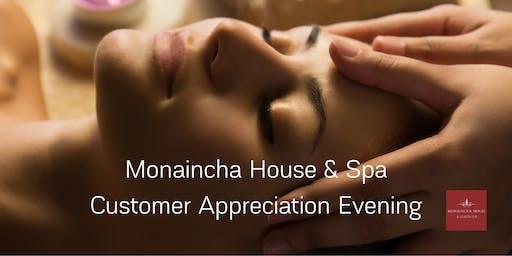 Monaincha House & Spa Customer Appreciation Evening