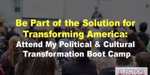 Transforming America Bootcamp