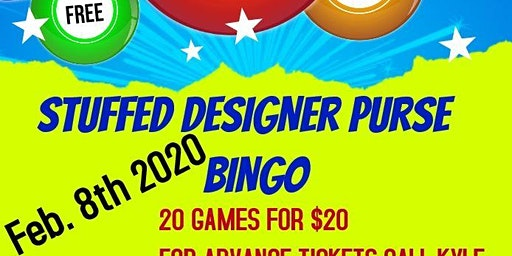 Stuffed Designer Purse Bingo Fundraiser For WVIF