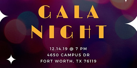 Gala/ Toy Drive tickets