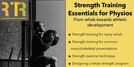 Strength Training Essentials for Physiotherapists - Sydney tickets