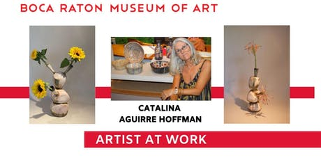 Catalina Aguirre Hoffman  Artist at Work at Boca Raton Museum of Art tickets