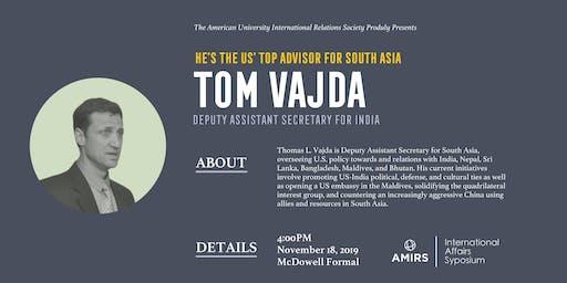 AMIRS Fall 2019 Speaker Symposium: Tom Vajda