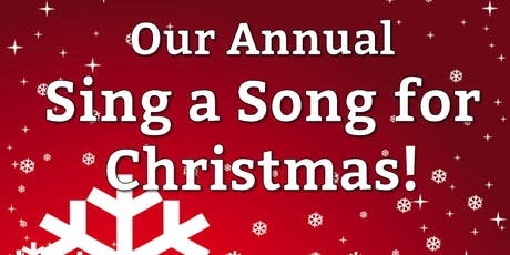SING A SONG FOR CHRISTMAS tickets