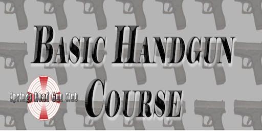 Basic Handgun Course