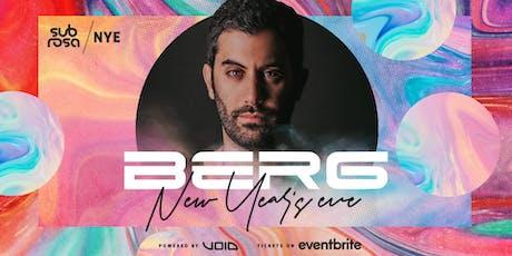 Berg - Brisbane Show @ Sub Rosa tickets