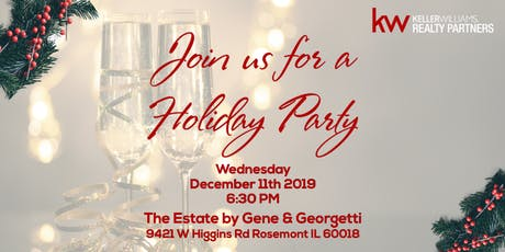 Keller Williams Realty Partners' Holiday Party 2019 tickets