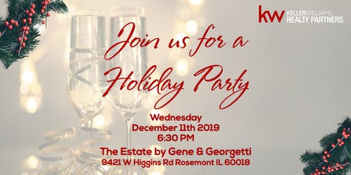 Keller Williams Realty Partners' Holiday Party 2019