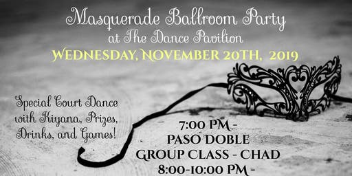Masquerade Ballroom Party