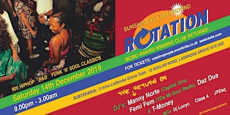 Rotation@Subterania  tickets