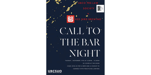 Call to the bar presented by Pre-Law Society