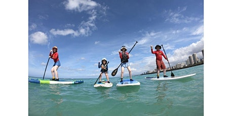 1 Hour Family SUP Lessons (08-10-2020 starts at 9:00 AM) tickets