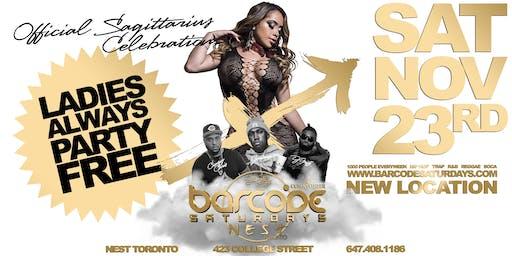 Barcode Saturdays Toronto  Sagittarius Party