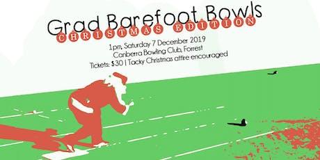 Grad Barefoot Bowls Christmas Edition tickets