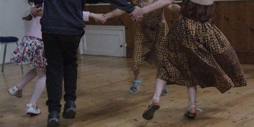 Ceilidh Kids and Familes Christmas Dance at Reading Room