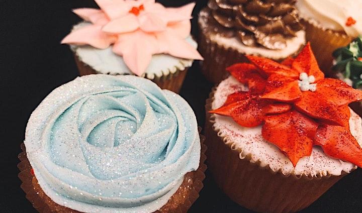 'Tis the Season Cupcake Decorating Class image