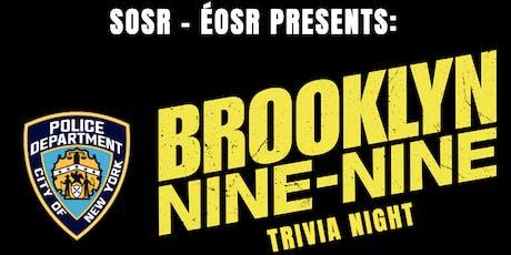 Brooklyn 99 Trivia Night tickets