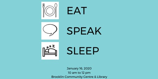 Eat Speak Sleep Seminar