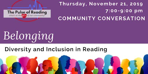 Pulse of Reading: Belonging in Reading
