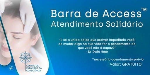 solidário e GRATUITO com Barra de Access™