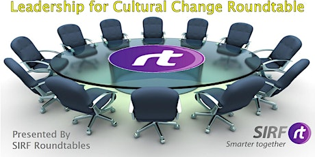 Leadership for Cultural Change - Roundtable tickets