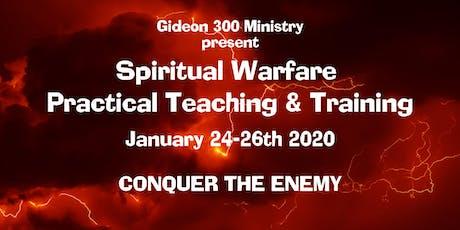 Spiritual Warfare Practical Training tickets