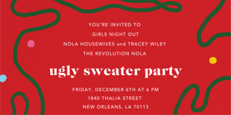 Ugly Sweater Girls Night Out and Networking tickets