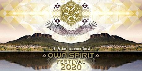 Own Spirit Festival 2020 entradas