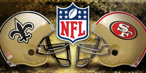 Birthday Bash for Phillip Brown + Saints v 49ers Game Watch Party