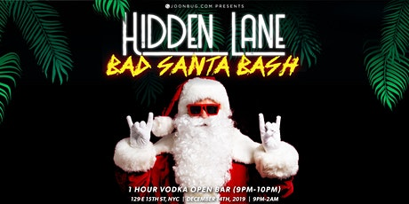 After Party Bad Santa Bash Dec 14th tickets