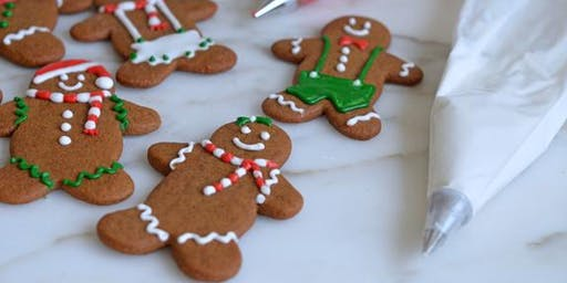 Boozy Gingerbread Cookie Class- ages 21 and up ONLY!