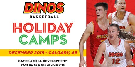 Dinos Basketball Holiday Clinic- Dec 14/15 tickets