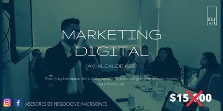 Taller de Marketing Digital entradas