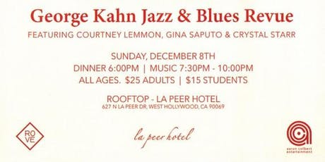 George Kahn Jazz & Blues Revue Holiday Party 2019 tickets