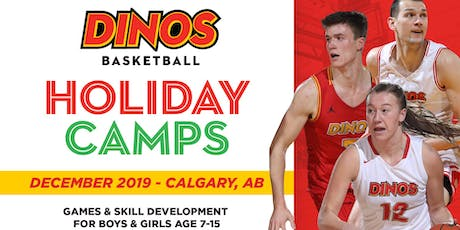Dinos Basketball Holiday Clinic- Dec 21-23 tickets