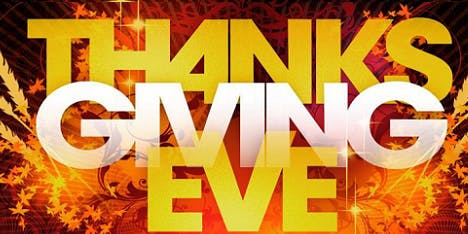 Thanksgiving Eve Singles Party