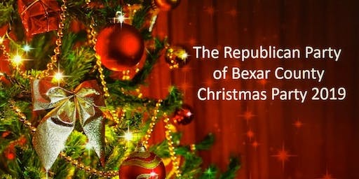 Republican Party of Bexar County Christmas Party 2019