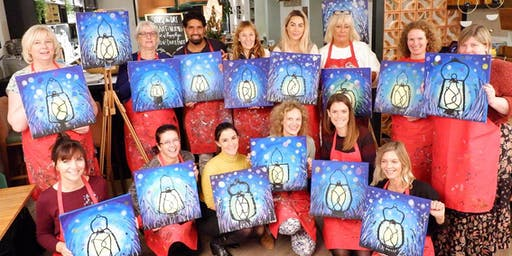 This Little Light of Mine Brush Party – Witney