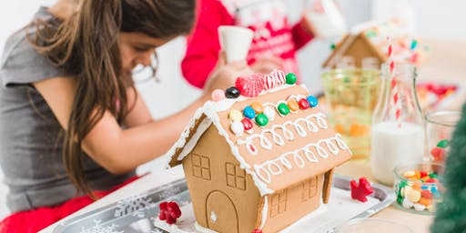 Gingerbread House Making Fundraiser Benefiting CHiPs for Kids at Chico Mall