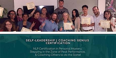 Self-Leadership Certification | Coaching Genius tickets