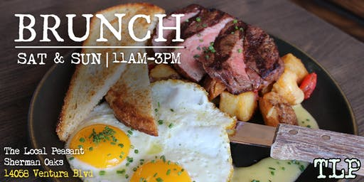 Weekend Brunch at The Local Peasant Sherman Oaks!