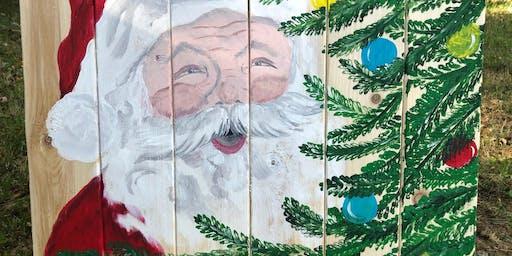 Santa Pallet Paint Class