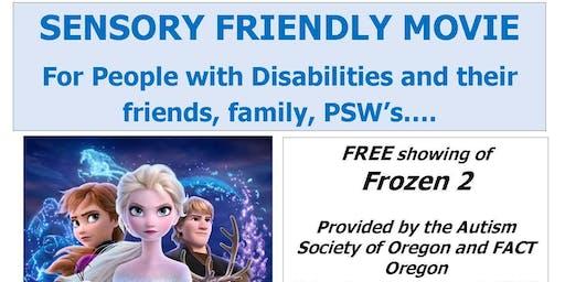 Sensory Friendly Movie - Frozen 2